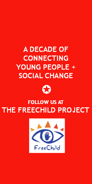 Follow Freechild on Facebook at https://www.facebook.com/freechildproject/