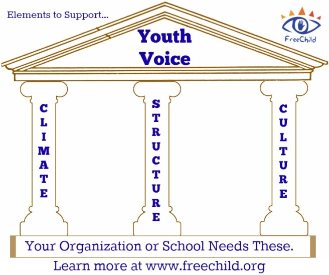 Elements to Support Youth Voice by The Freechild Project
