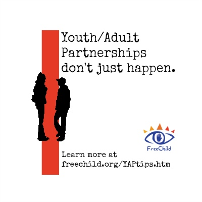 The Freechild Project Youth/Adult Partnerships Tip Sheet