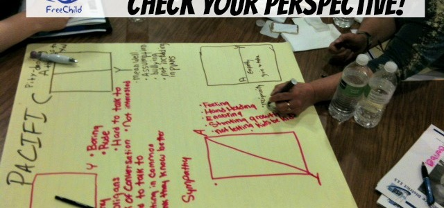Check Your Perspective exercise by The Freechild Project