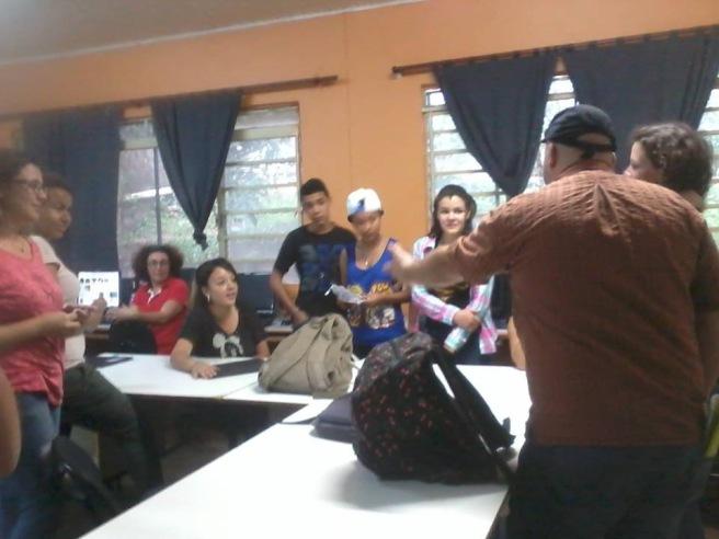 Freechild Project youth in São Paulo, Brazil.