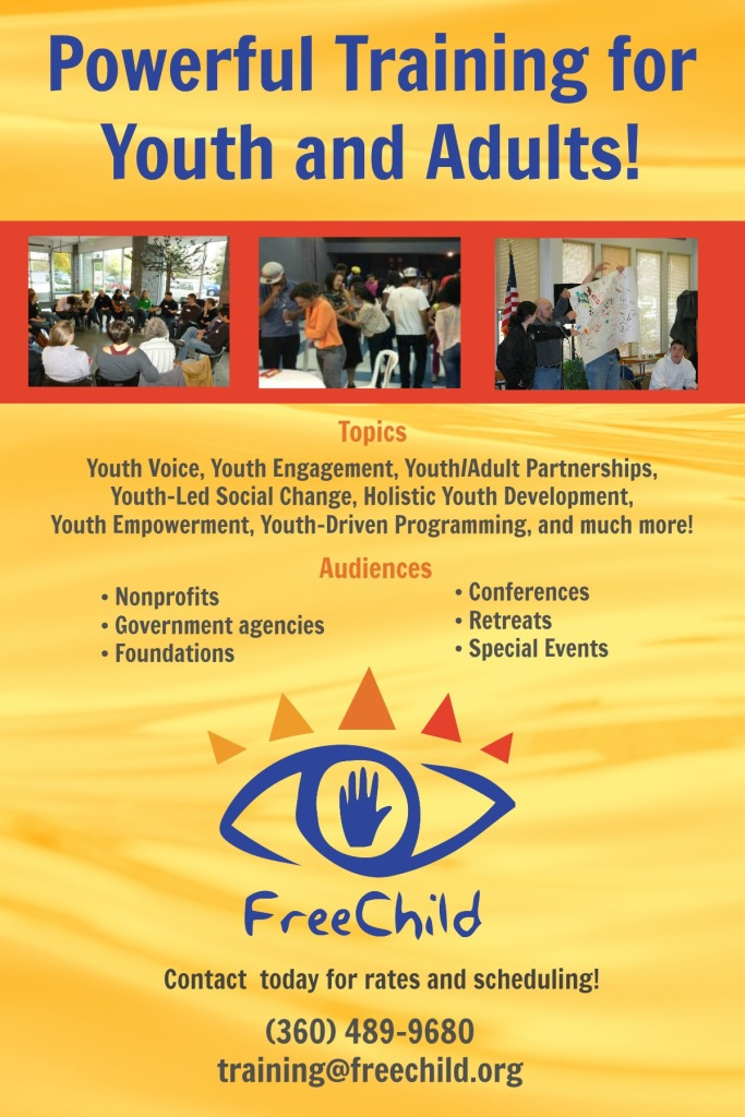 Freechild training for youth and adults