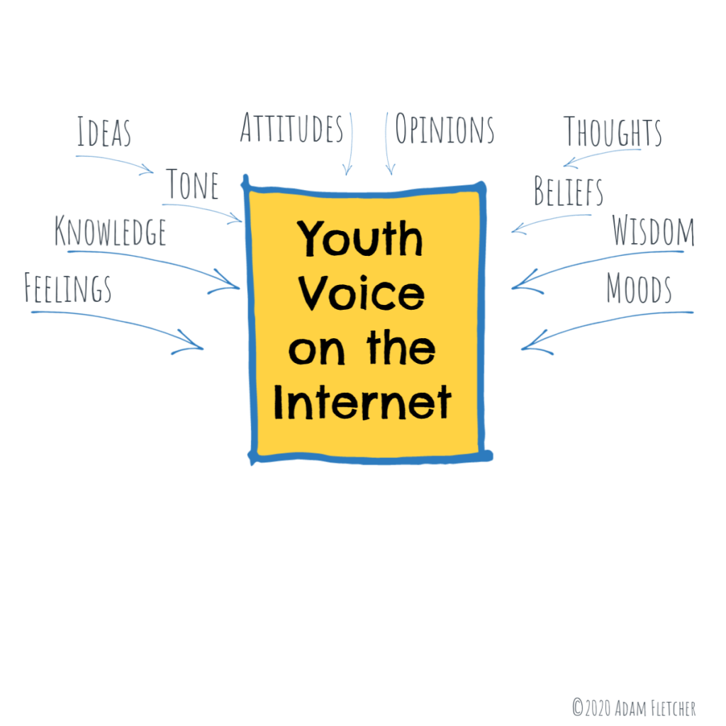 Expressions of Youth Voice on the Internet