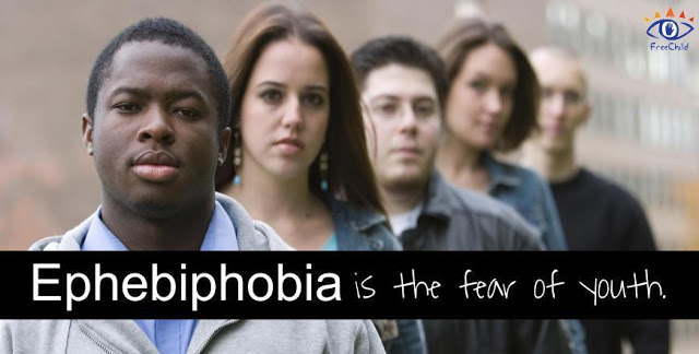 Ephebiphobia is the fear of youth. The Freechild Project
