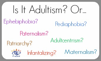 Terms related to adultism